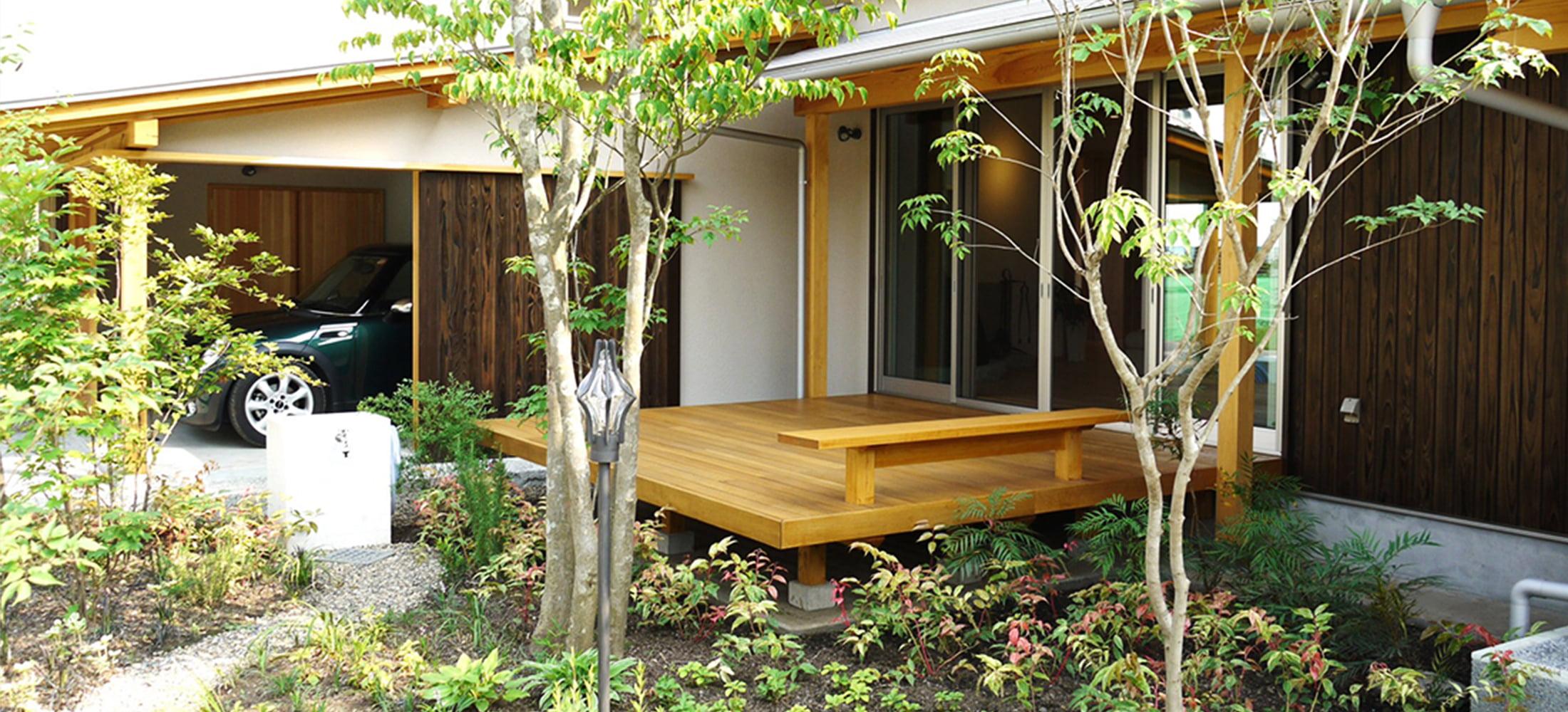TAKAHASHI / 株式会社高橋造園 住宅のテイストを理解し、家と外構・エクステリア・庭の調和を目指す